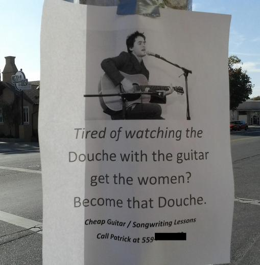 Douche lessons