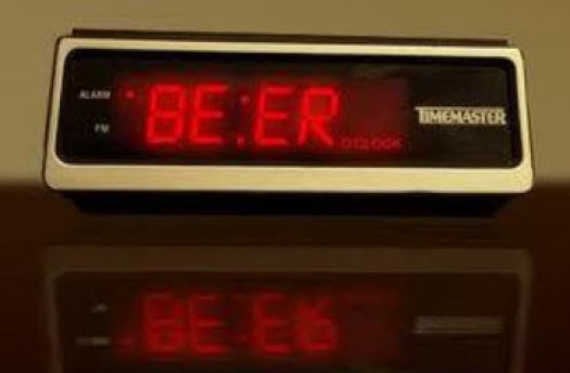 Time for beer