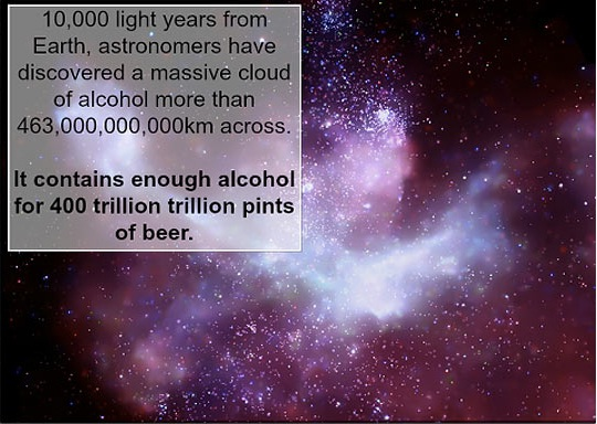 Space alcohol