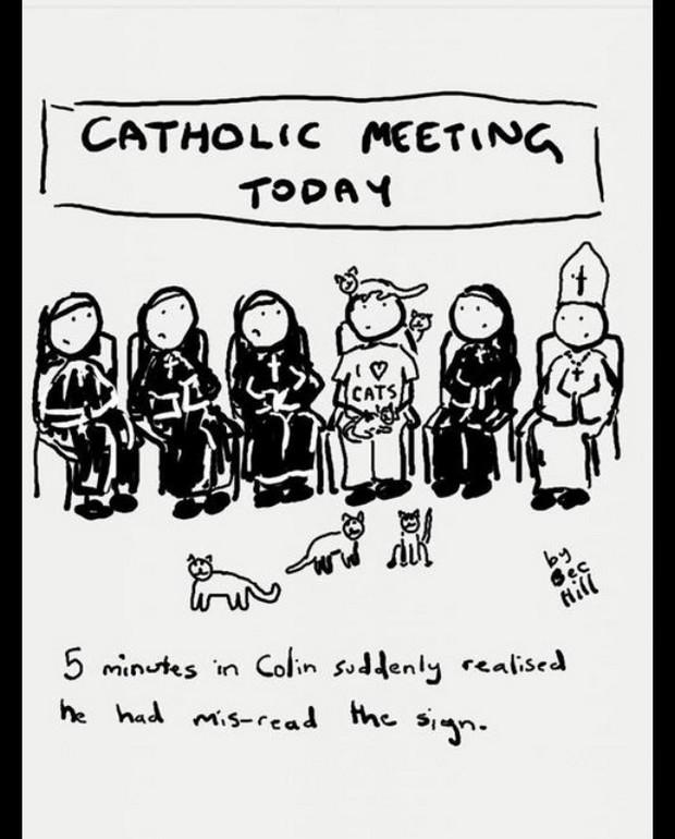 Catholic meeting today
