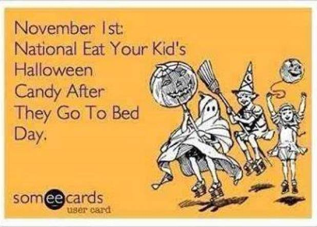 National eat your kids candy day