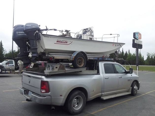 How not to use a trailer hitch