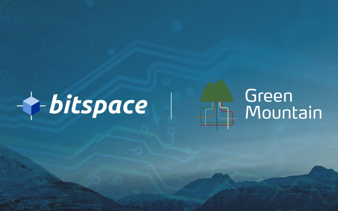 BitSpace Partners with Green Mountain
