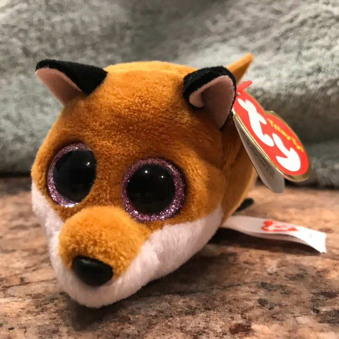 A little fox that Sophie got me