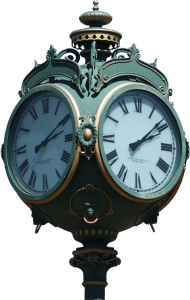 Picture of an old clock