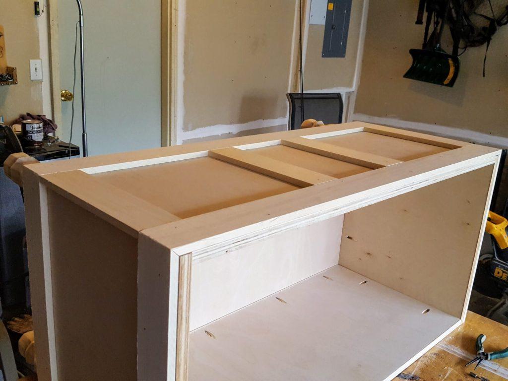 DIY Storage Chest Step 3