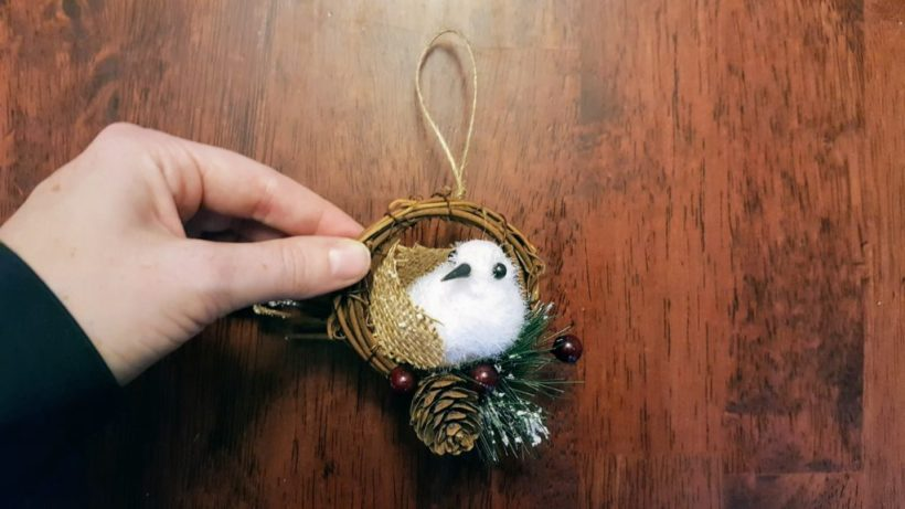Snowbird Christmas Ornament