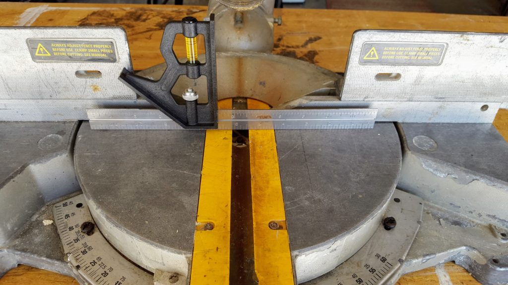 How to Align a Miter Saw