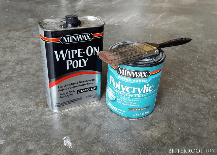 Wipe-on or Brush-on Polyurethane