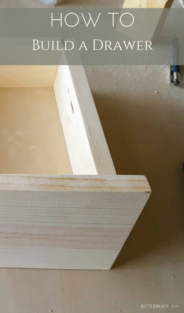 how to build a drawer