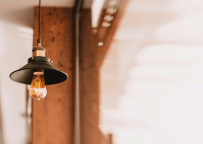 Budget Friendly Rustic Industrial Lights