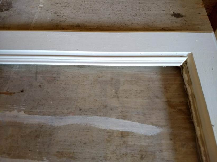 How To Add Glass To Kitchen Cabinet Doors Bitterroot Diy