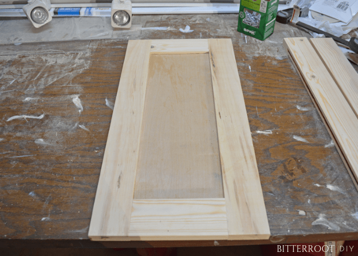 Easy Shaker Cabinet Doors Bitterroot Diy