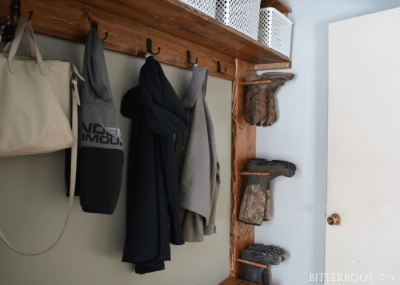 Mudroom Boot Hanger