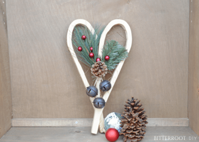 DIY Christmas Decor - Mini Snowshoes