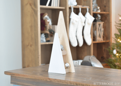 DIY Christmas Decor - Geometric Tree