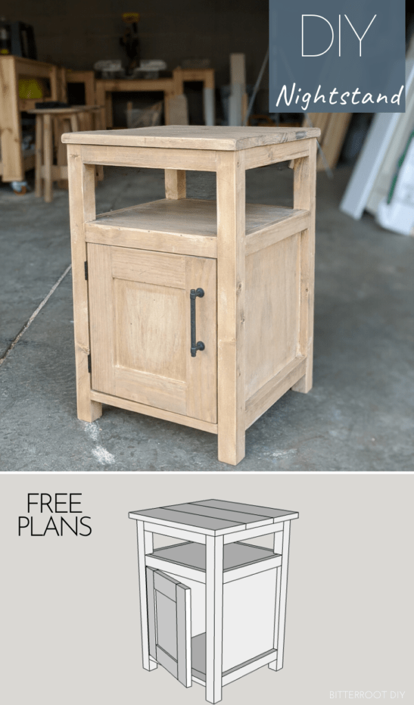 shaker style diy end table