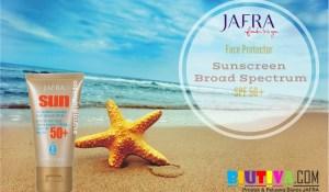 JAFRA Face Protector Sunscreen Broad Spectrum SPF 50+