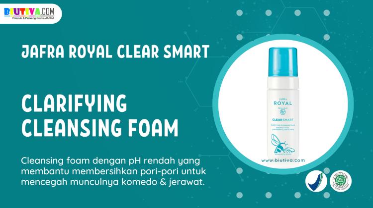 Produk JAFRA ROYAL Clear Smart Clarifying Cleansing Foam_BiutivaCom