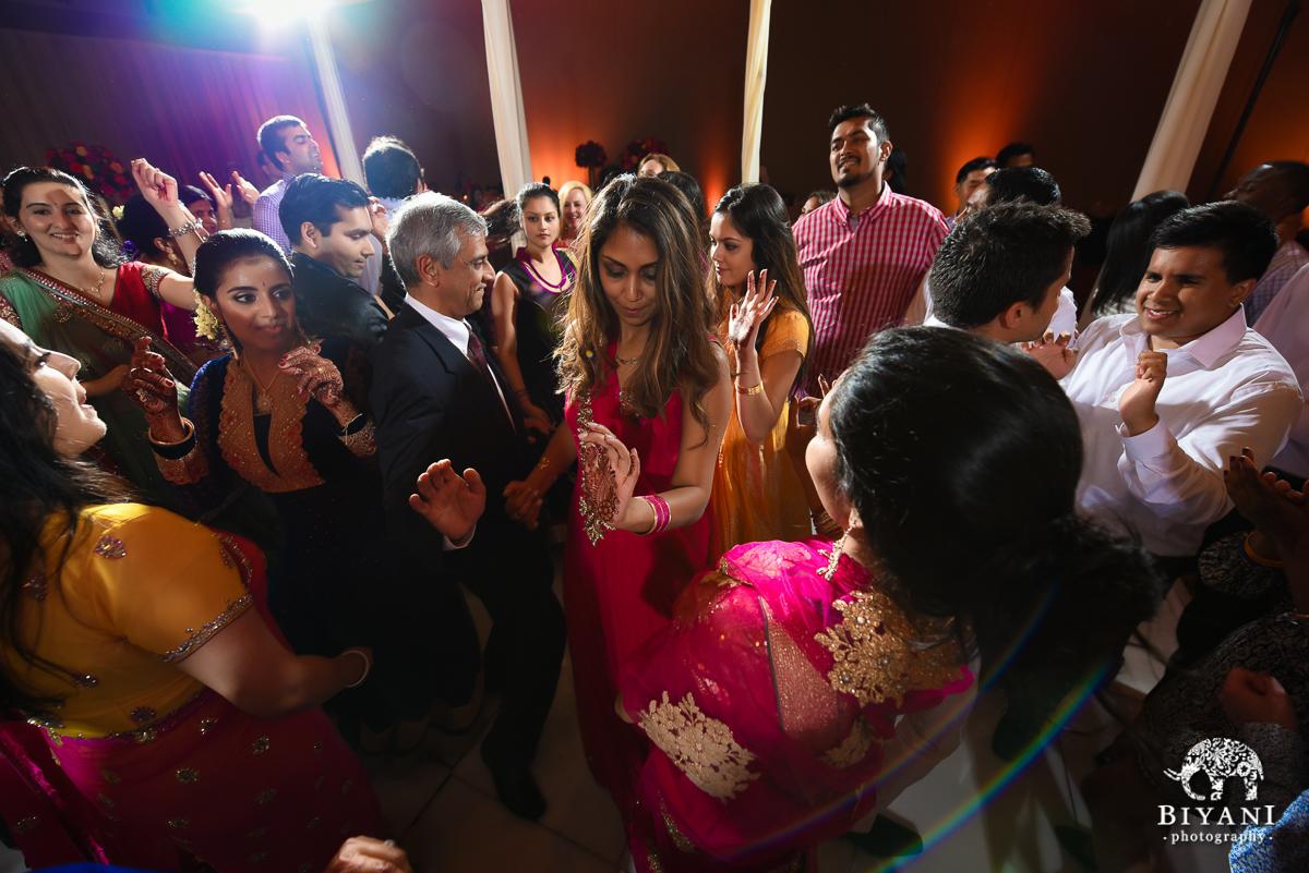 Stafford Center Indian American Fusion Wedding Reception