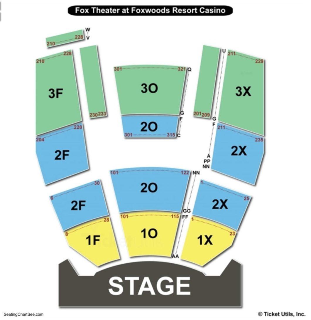 A Magnificent Fox Theatre Wedding Day: Thalia Mara Seating Map