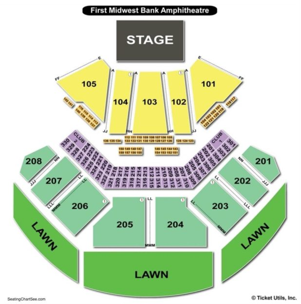 Hollywood Amphitheatre Tinley Park Seating Chart Rh Bizarrecreations Com Pit Seat Ga2