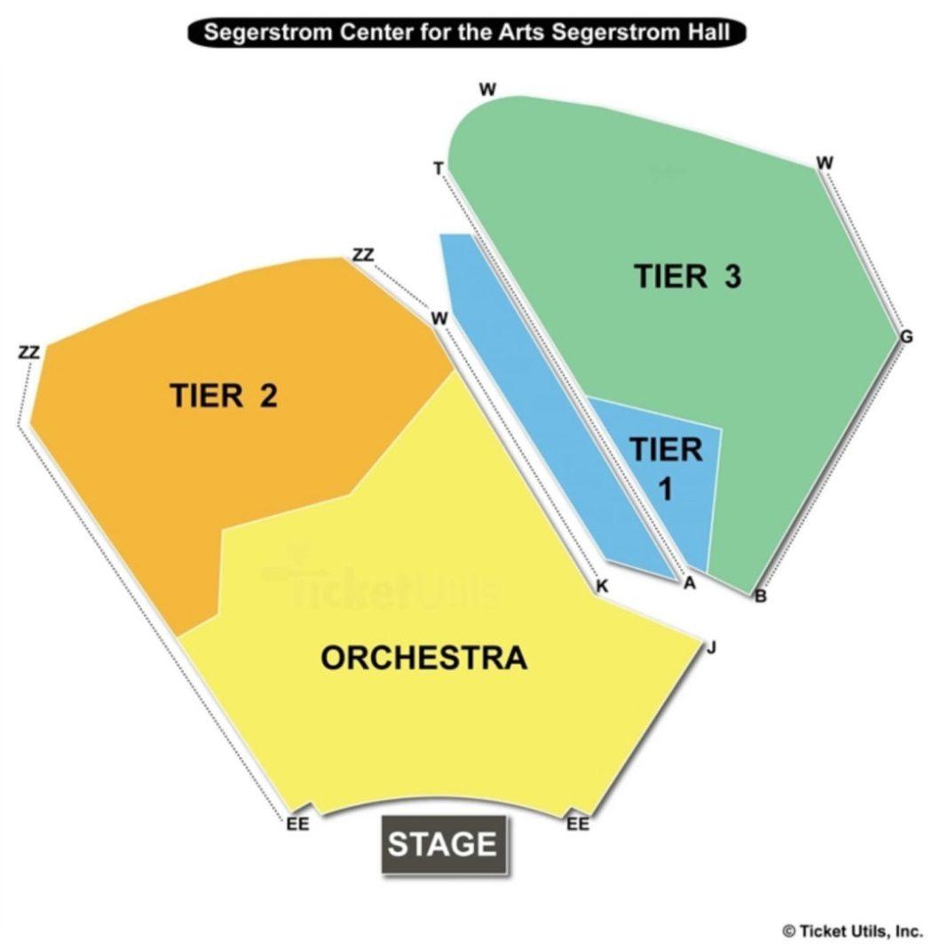 Segerstrom Center Seating Chart Wallseatco