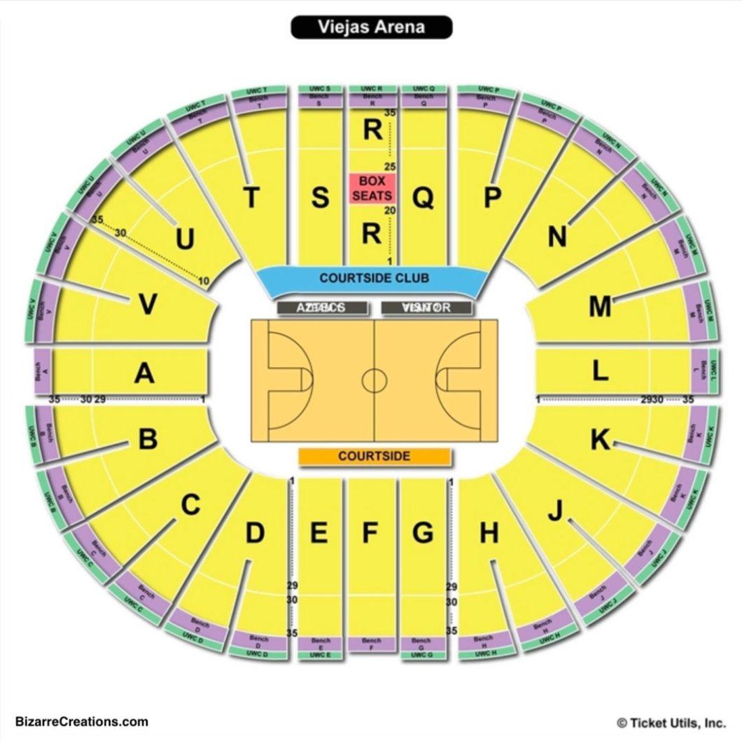 Viejas Arena Seating Wallseatco