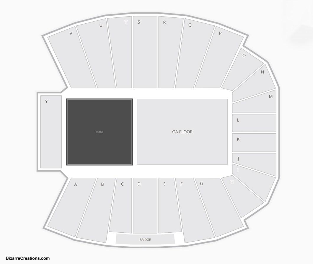 Vanderbilt Stadium Seating Chart For Concerts Wallseatco
