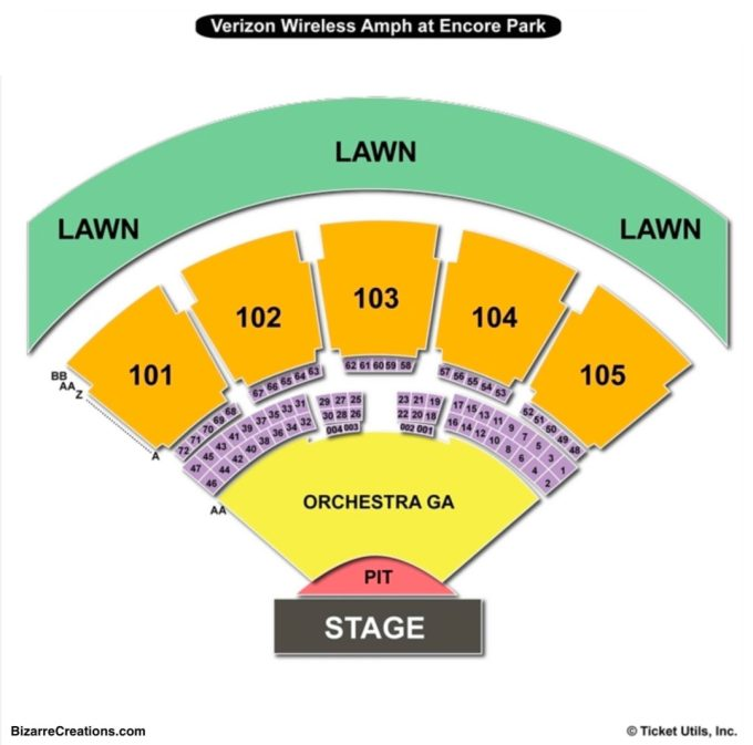 Irvine Meadows Seating Chart Best Buy In Hammond La