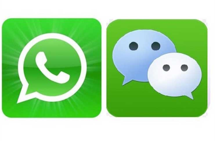 Millennials are increasingly using 'WeChat' and 'WhatsApp