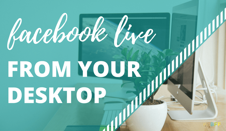 How to Schedule and Broadcast Facebook Live Videos from Your Desktop Using BeLive.tv