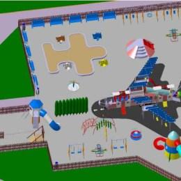 """Locul de joacă aerospaţial, mutat în urma """"protestelor"""", în Centrul Civic"""