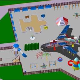 Până în septembrie parcul cu avioane din Centrul Civic va fi finalizat. Cel târziu de săptămâna viitoare vor începe lucrările