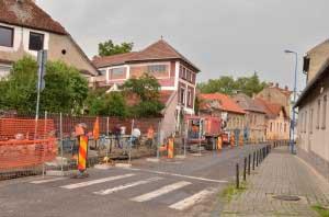 Lucrari apa canal Bisericii Romane (2)