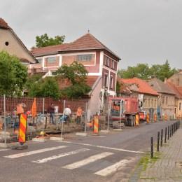 Strada Bisericii Române va fi închisă traficului auto timp de o lună, din cauza lucrărilor la apă