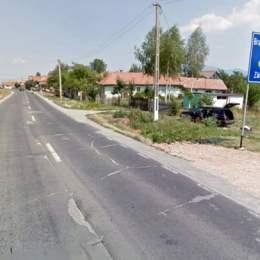 DN 73, lăsat din nou de izbeliște în zona Râșnovului. Asfaltul promis nu s-a turnat, dar au rămas găurile