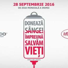 """""""Donează sânge! Împreună pentru viață"""" – o nouă campanie Clinicco pe 28 septembrie"""