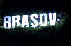 Simbolul Brașovului din vârful Tâmpei este din nou luminat