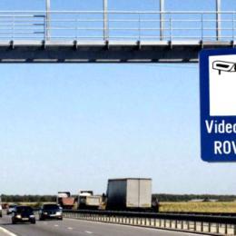 Unde sunt amplasate camerele video fixe pentru verificarea rovinietei