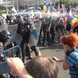 Protestele împotriva Guvernării Videle, văzute ca tentative de lovitură de stat. Jandarmeria a făcut chiar plângere penală