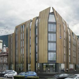 Hotelul care se construiește pe Palatul Telefoanelor a ajuns în procedura de autorizare de mediu