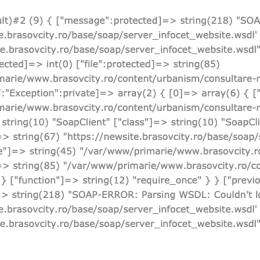 Noul site al Primăriei Brașov generează erori la mai puțin de o săptămână de la lansare