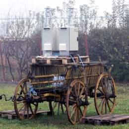 Calitatea aerului din Codlea, măsurată dintr-o căruță