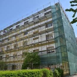 FOTO 12 blocuri, izolate termic pe banii Primăriei. Investiția totală este de 8,26 milioane de lei