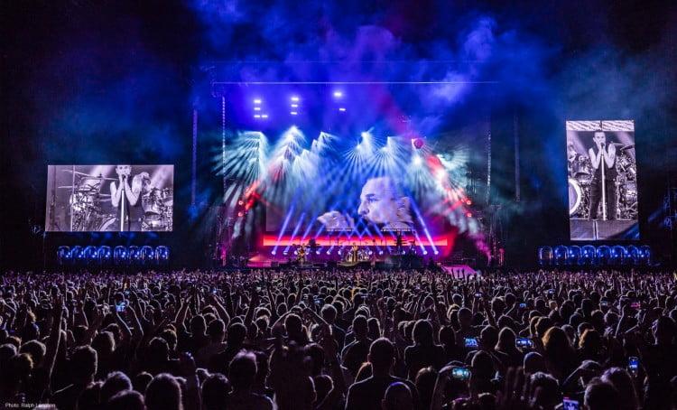 Concertul Depeche Mode LiVE SPiRiTS va fi difuzat o singură dată online în data de 25 iunie, începând cu ora 22:00