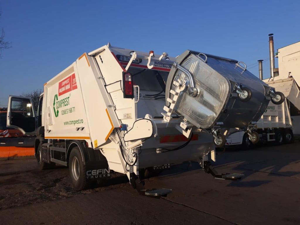 Contract de 12,5 milioane de lei pentru ridicarea gunoiului zărneștenilor