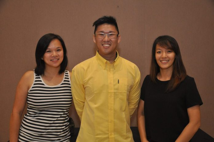 BCJodie Lim, Mccoy Chin and Chian Mei
