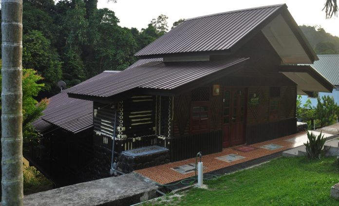 Pondok Autan, one of the chalets that is offered at the village_0001