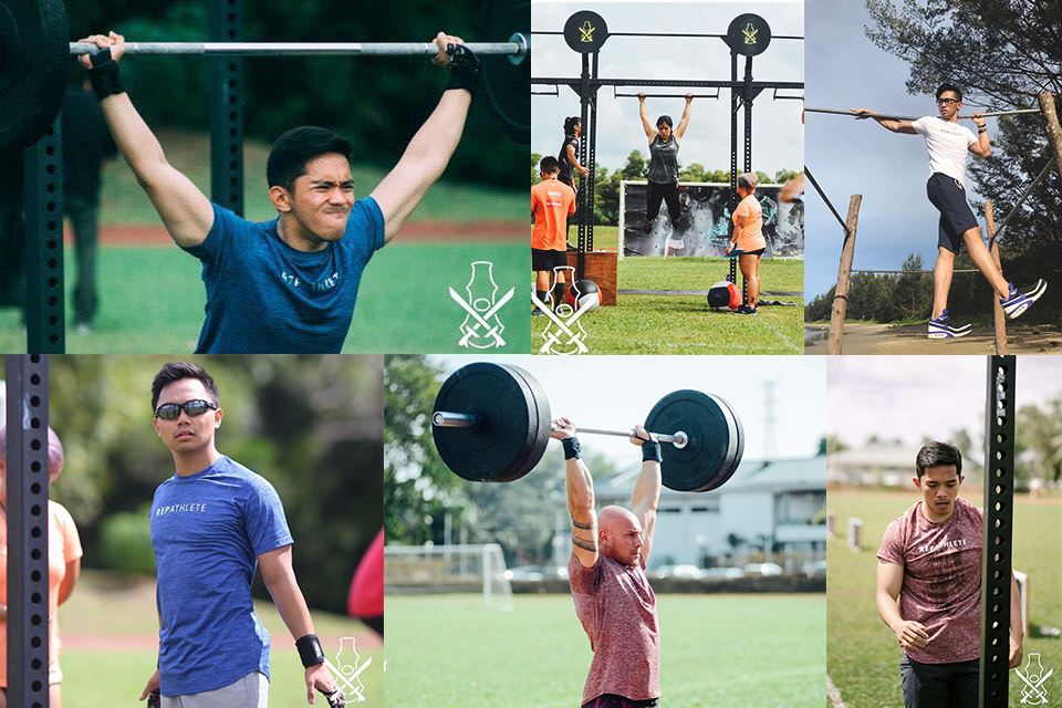 Repathlete putting their stamp on locally made workout